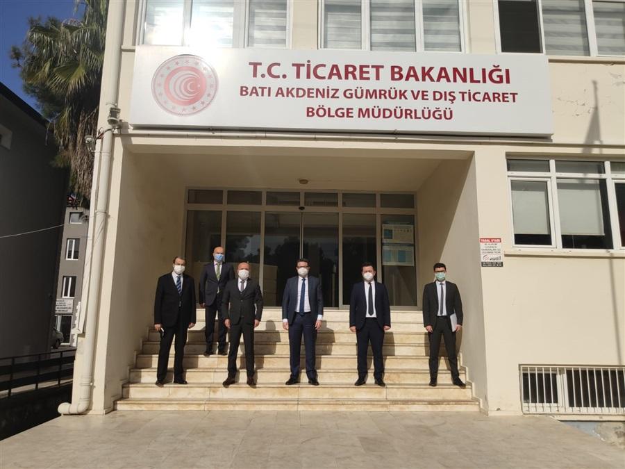 Başkanlığımız Heyetinin Antalya İline Gerçekleştirdiği Ziyaret