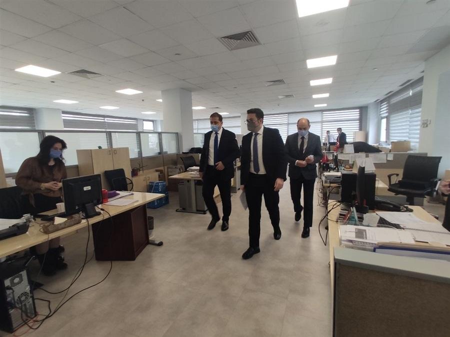 Başkanlığımız Heyetinin İstanbul İline Gerçekleştirdiği Ziyaret