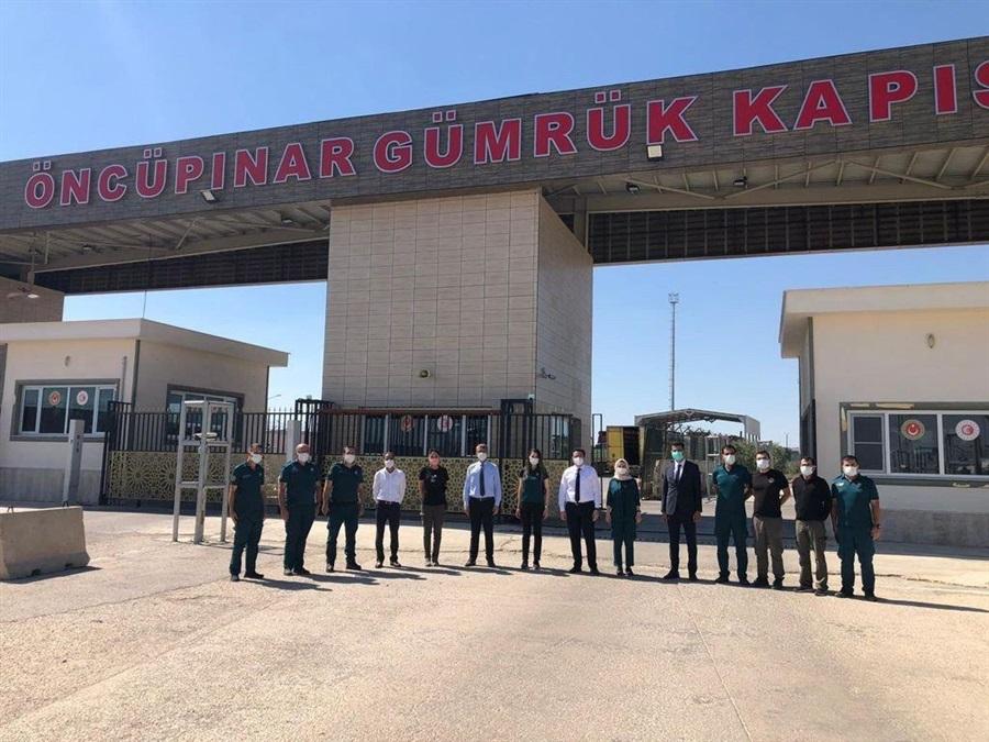 Başkanlığımız Heyetinin Gaziantep İline Gerçekleştirdiği Ziyaret
